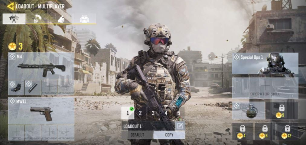 Level Call of Duty Mobile