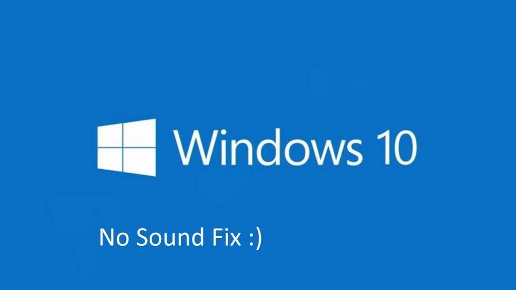 Mengatasi Suara Tidak Keluar di Windows 10